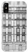 Paris Houses, 1841 IPhone Case