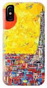 Paris In Sunlight IPhone Case