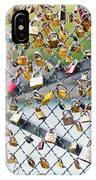 Paris - Locks Of Love IPhone Case