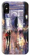 Paris Miting Point Arc De Triomphie IPhone Case