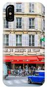 Paris Resturante IPhone Case