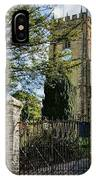 Parish Church Of St Candida And Holy Cross IPhone Case