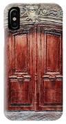 Parisian Door No. 8 IPhone Case