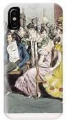 Parisian Salon, 1825 IPhone Case