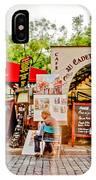 Parisian Street Life IPhone Case