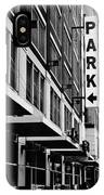 Park... Bw... Detroit IPhone Case