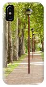 Park Footpath IPhone Case