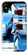 Park Lane Chrome -posterized IPhone Case