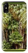 Park Palms IPhone Case