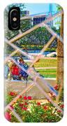 Park Reflections IPhone Case