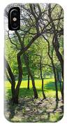 Park Trees IPhone Case