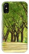 Parkway Among Trees IPhone Case
