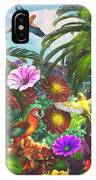 Parrot Jungle IPhone Case