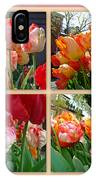 Parrot Tulips In Springtime Philadelphia IPhone Case