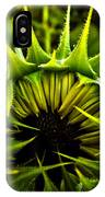 Partial Eclipse Of The Sunflower IPhone Case
