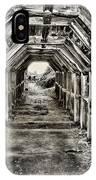Partington Cove Tunnel By Diana Sainz IPhone Case