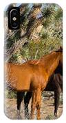 Partners - Wild Horses IPhone Case