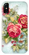 Party Of Flowers  IPhone Case
