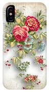 Party Of Roses  IPhone Case