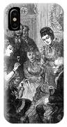 Party Toast, 1872 IPhone Case