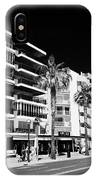 Passeig De Jaume 1 Seafront Road And Properties Salou Catalonia Spain IPhone Case