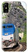 Passenger Train Locomotive IPhone Case