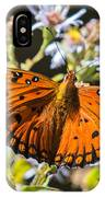 Passion Butterfly IPhone Case