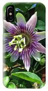 Passion Flower 4 IPhone Case