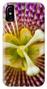 Passion Flower IPhone Case
