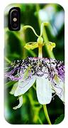 Passion Flower IPhone X Case