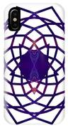 Passionate Purple Prayers Abstract Chakra Art By Omaste Witkowsk IPhone Case