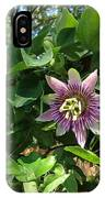 Passion Flower 3 IPhone Case