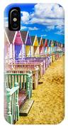 Pastel Beach Huts 2 IPhone Case