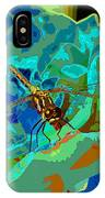 Pastel Dragonfly Rose IPhone Case