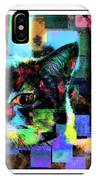 Patchwork Kitty IPhone Case