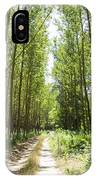Path And Trees IPhone Case