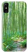Path Through Bamboo Forest IPhone Case