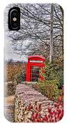 Path Through The Cotswolds IPhone Case