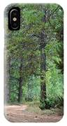 Path Through The Pines - Casper Mountain - Casper Wyoming IPhone Case