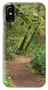 Path Through The Rainforest IPhone Case
