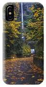 Path To Multnomah Falls IPhone Case