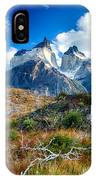 Path To Torres Del Paine IPhone Case