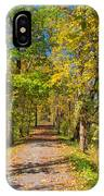 Pathway Along The Ohio And Erie Canal  IPhone Case
