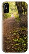 Pathway In The Woods IPhone Case