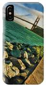 Pathway To The Golden Gate IPhone Case