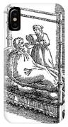 Patient And Nurse, 1646 IPhone Case