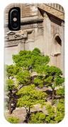 Patio De Los Naranjos Of Seville Cathedral IPhone Case