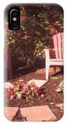Patio Garden IPhone Case