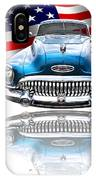 Patriotic Buick Riviera 1953 IPhone Case