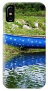 Patriotic Canoe #1 IPhone Case